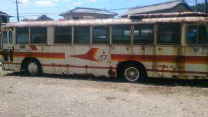 サビのひどいバス
